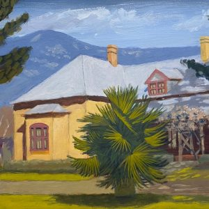 Lanyon Homestead painting